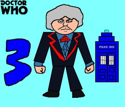 Doctor Who Minis - Third Doctor by ESPIOARTWORK-102