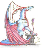 Jester Dragon by Scellanis