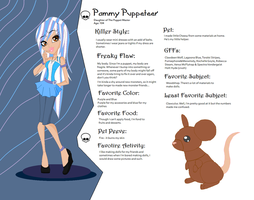 Monster High OC: Pammy Puppeteer by KhairiLoneliness