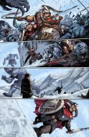 Thor 7, page 19 - colored by Kai-S