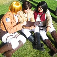 SNK: Best Friends Trio by I-I-F-I-S-Production