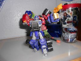 Armada Optimus Prime - Epic pose 1 by Kaizer617