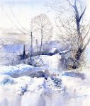 Winter Scenery by GreeGW