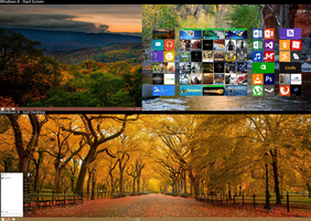 November Desktop Screen 2012 (Windows 8) by Mmagoo
