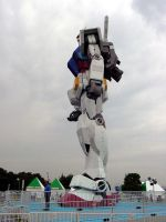 Gundam in Odaiba_2 by y-nrmt