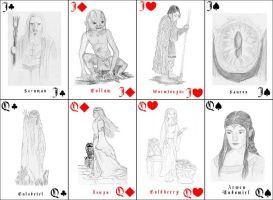 Middle Earth Cards 6 by Meltintalle