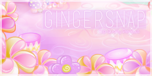 Gingersnap Banner Challenge by morbidcupcakes