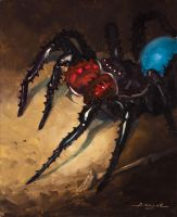 Blood Fang Spider by AaronMiller