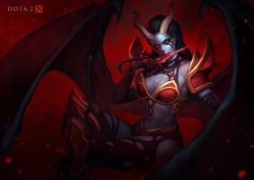 Queen of Pain DOTA 2 by r-chie