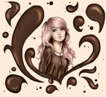 Chocolate girl by KoRaIkOwAnTsCoOkIeS