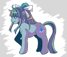 GS Ponies: Mia by Mad-Mustache