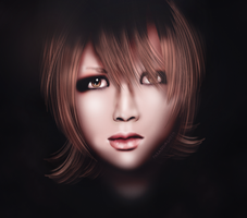 Ruki Drawing for BeforeIDecay1996 by ParanoiaGod69
