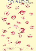 Eyes practice by rektess