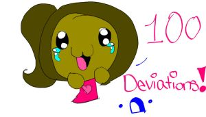 100 DEVIATIONS!!!!!!!!!!!!!!!!!!!!!!!!!!!!!!!!!! by Sasha-the-Hedgie