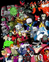 Cartoon Network Villains by CartoonNetworkAdik