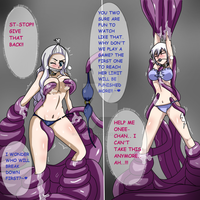 Double trouble:Mira and lisanna captured by Banagherlinks