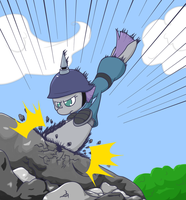 Maud Pie Master of the Rocks by thepiplup