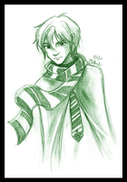 Draco Malfoy by germanmissiles