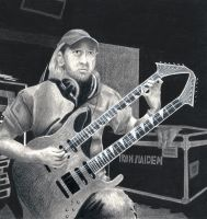 A Matter of Life and Death - Adrian Smith by Terisa-san