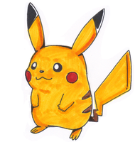 Just a Pikachu by Nintendrawer