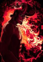 Hellboy by dark-tarou