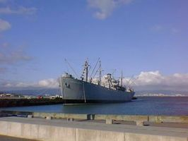 Navy Ship by andstock