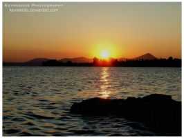 Sunset in Eretria II by Kevrekidis