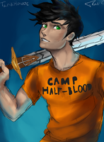 Percy Jackson by TarikHavoc