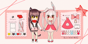 Rami+Rimi reference sheet by Bunnymee