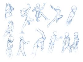Random poses 17 (massive sheet) by BBstudies