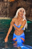 Kida: Going for a Swim by MomoKurumi