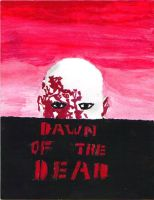 Dawn of the Dead-painted by Malficeus