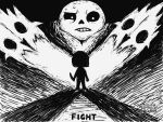 Bad Time Miiverse drawing! by Crystalitar