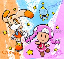 Cream + Cheese and Toadette by pikaplusmin