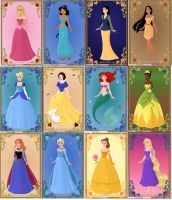 Disney Princess! by TheArtist3711
