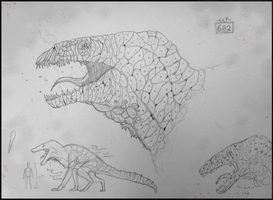 SCP-682 Concept by ArticZephyr