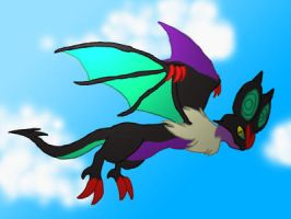 Day 8 - Favourite Flying Type by Sparkplug223