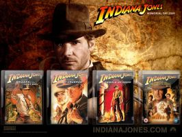 Indiana Jones DVD Case Pack by gandiusz