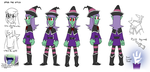 Erika the Witch reference by AdvancedDefense