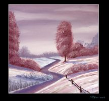 Snowy River Scape by Clu-art