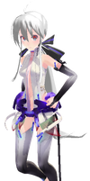 {MMD} TDA Append Haku (So Bad D:) by Xhiao-Yuu
