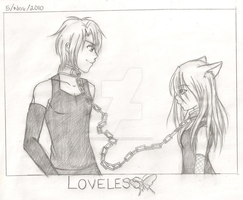 MinaxSean Loveless Sketch by KaitouHyuuga