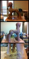 Big Luna Sculpt day 21 by bigponymac
