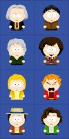 Dr Who South Park Style Part 1 by kafaraqgatri