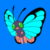Shiny Butterfree by Artrookie--yup