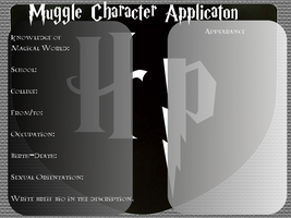 HP OC Bank Application For Muggles by ArtistLucy