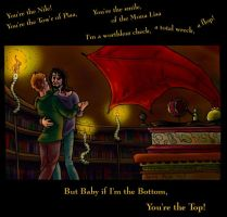 Baby you're the Top by bonnieslashfiend