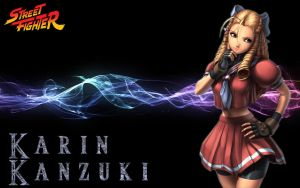 Karin Wallpaper by Atom45