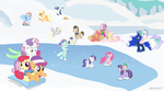 A Ponyville Winter by dm29