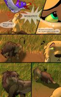 The dark lion page 2 by Mydlasfanart